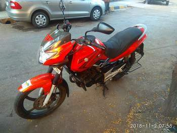 Suzuki Gs150r Left Side