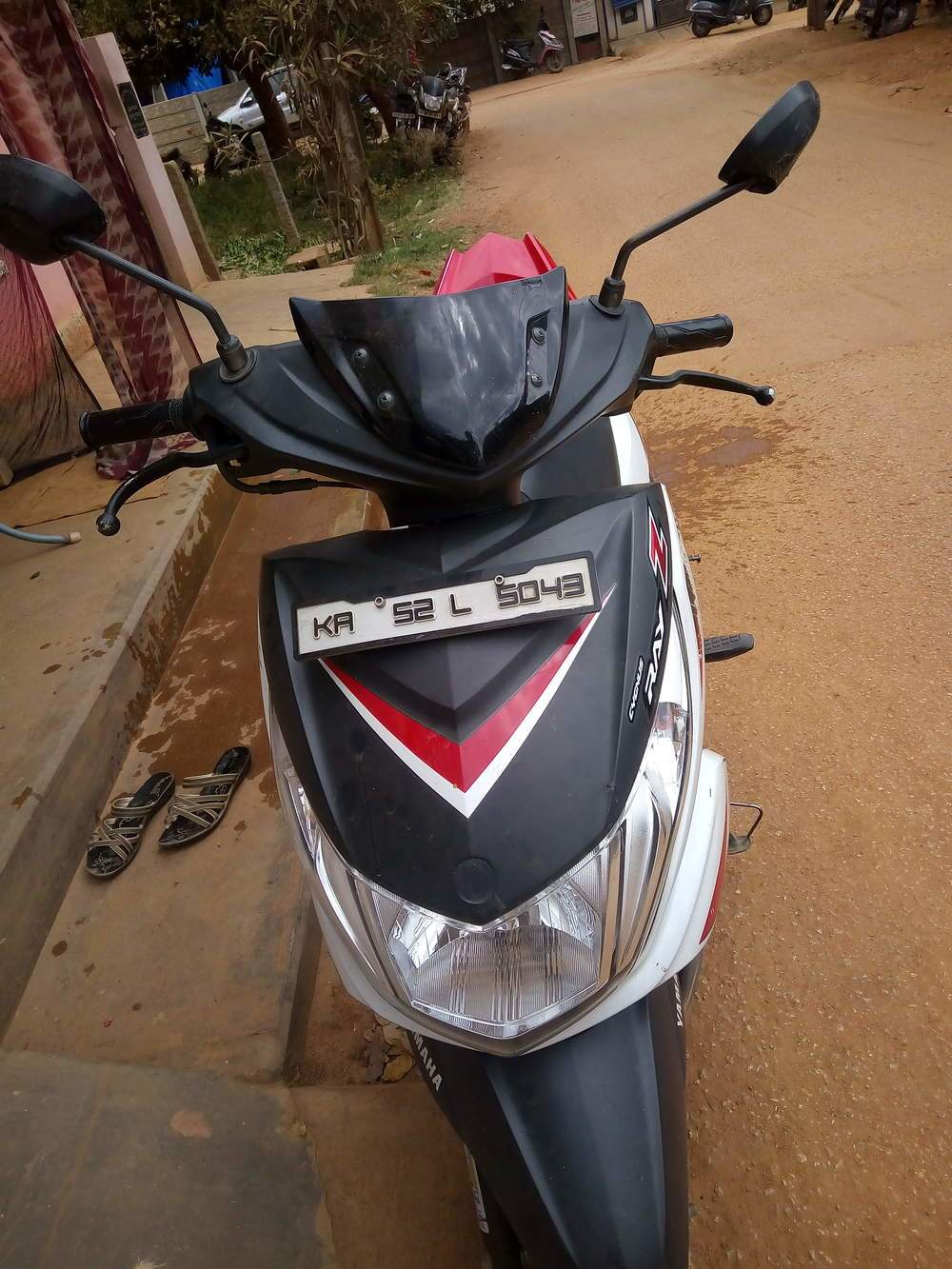 Yamaha Ray Z Front View