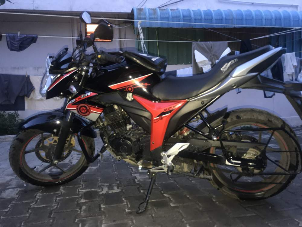 Suzuki Gixxer Front View
