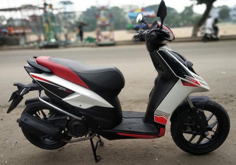 Used Aprilia Sr 150 Bike in Coimbatore 2017 model, India ...