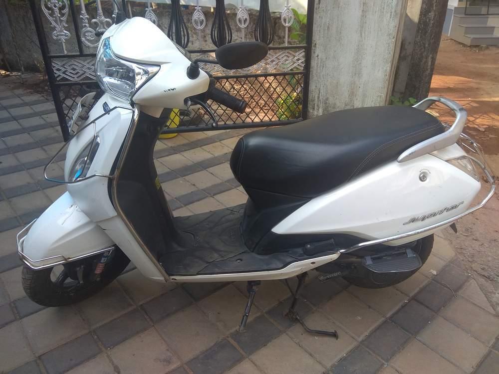 Tvs Suzuki Fiero Rear View
