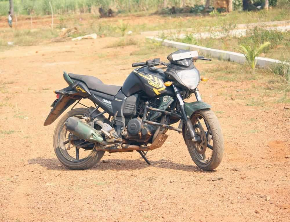 Yamaha Fz Rear View