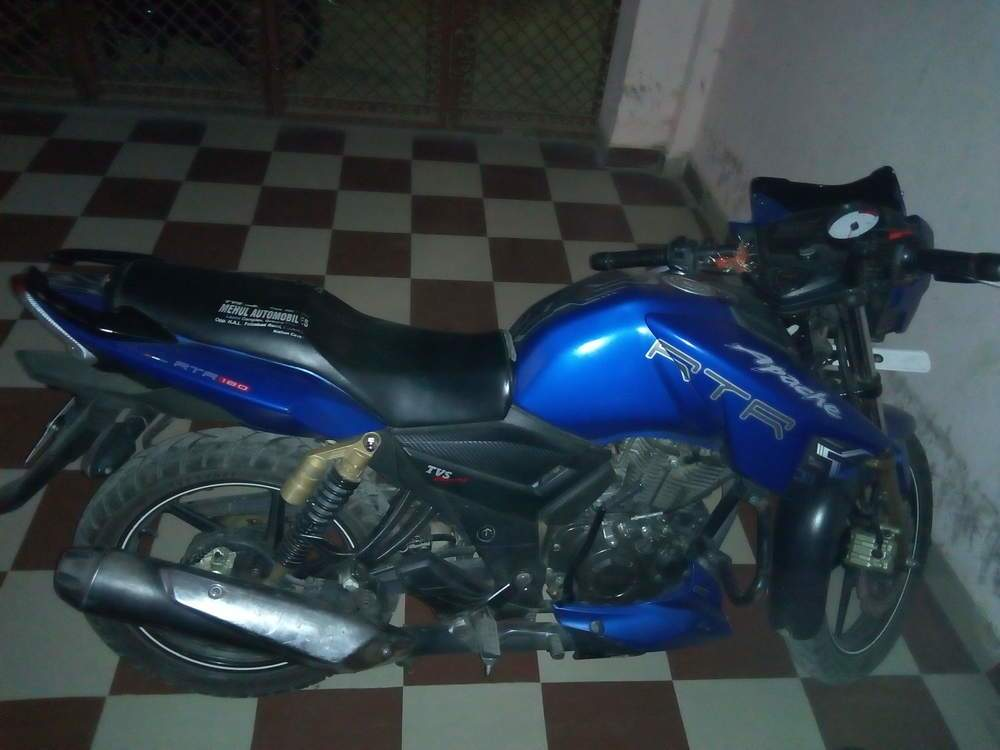 Tvs Apache Rtr 180 Front View
