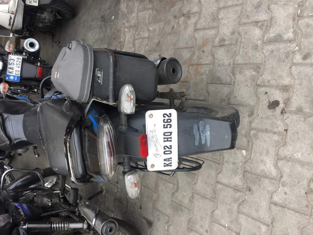 Bajaj Discover 100m Rear View