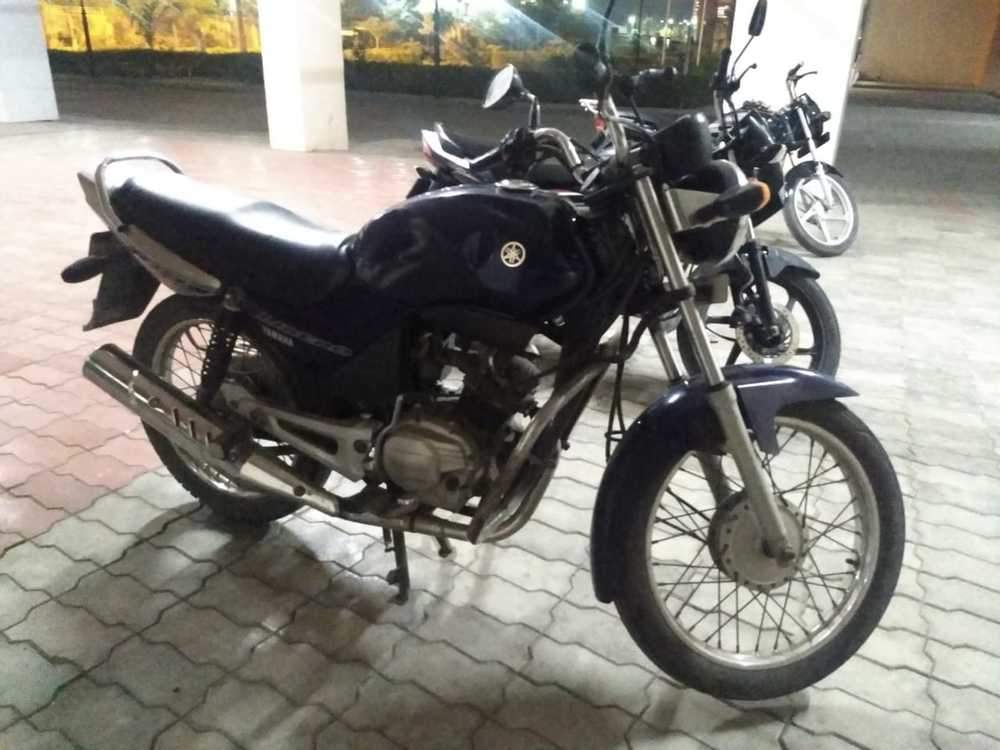 Yamaha Libero Rear View
