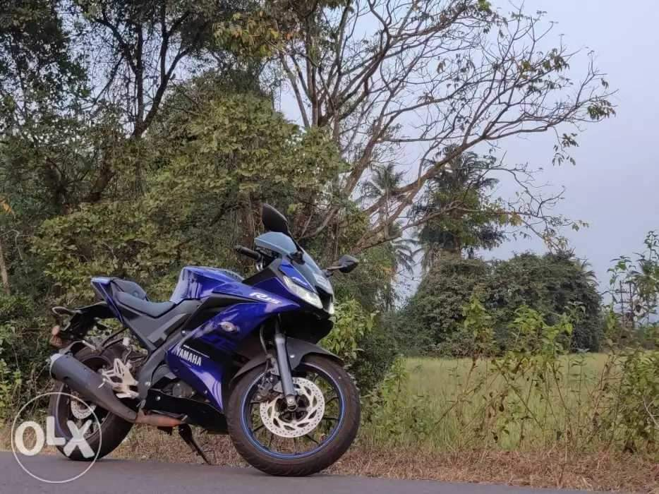 Yamaha Yzf R15s Front View