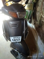 Honda Activa Left Side