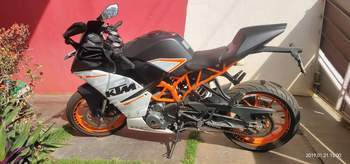 Ktm Rc 390 Right Side