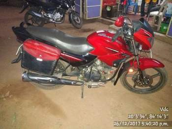 Hero Glamour 125 Right Side