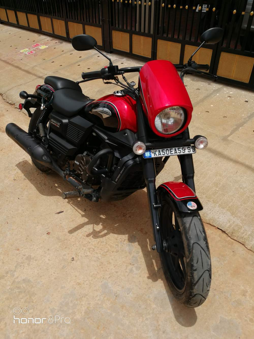 Um Motorcycles Renegade Sport S Right Side