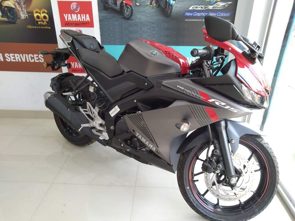 Yamaha R15 V30 Front View