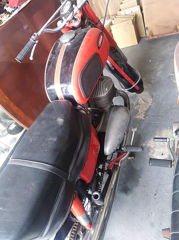 Jawa 300 Rear View