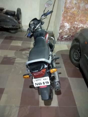 Hero Honda Cd Deluxe Left Side