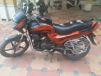 Hero Honda Splendor Plus Rear View
