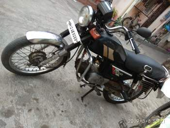 Hero Honda Cd 100 Right Side
