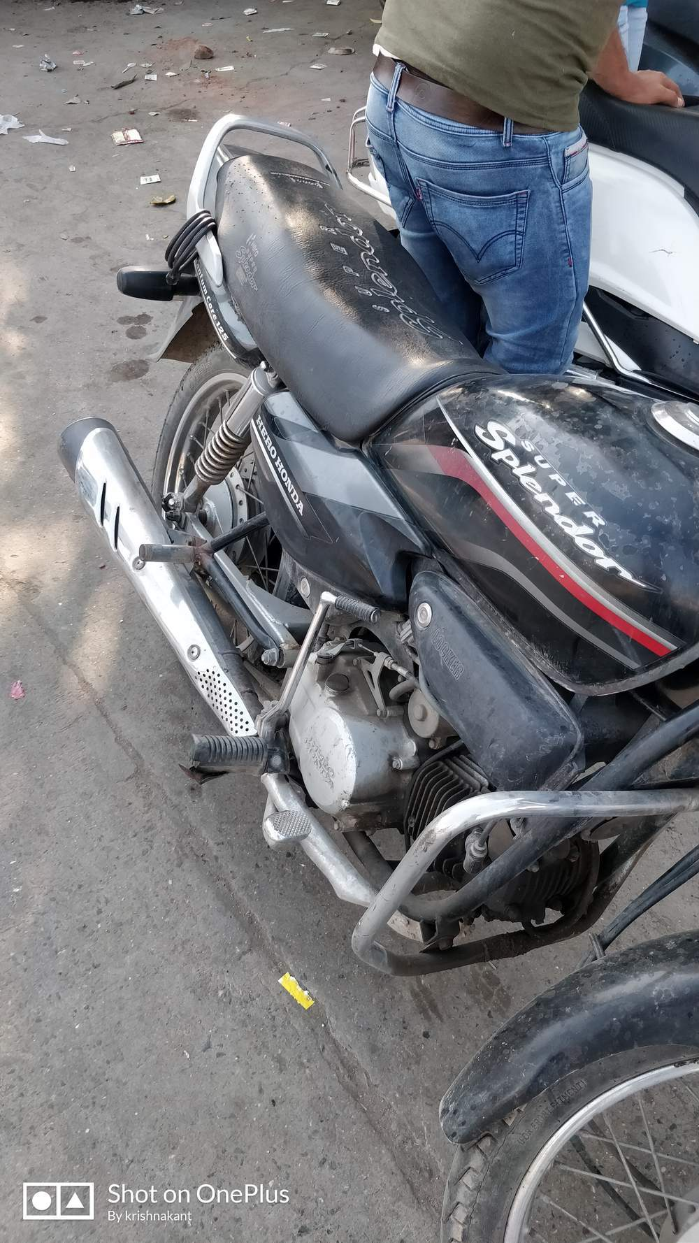 Hero Honda Splendor Super Front View