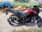 Honda Cb Hornet 160r Left Side