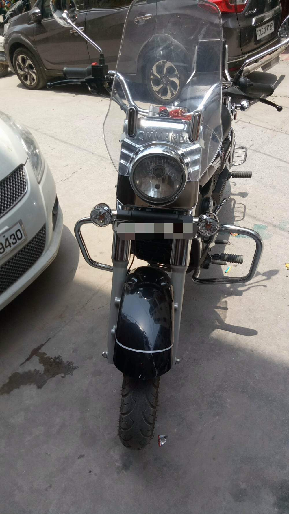 Um Motorcycles Renegade Classic Front View