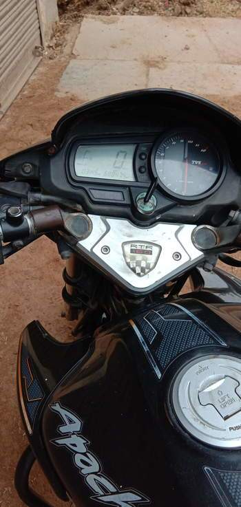 Tvs Apache Rtr 160 Rear View