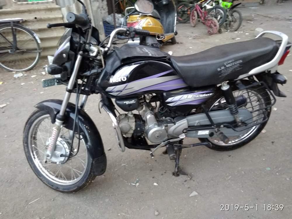 Used Hero Hf Deluxe Bike In Hyderabad 2014 Model India At Best Price Id 27569