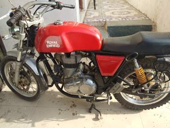 Royal Enfield Continental Gt Rear View