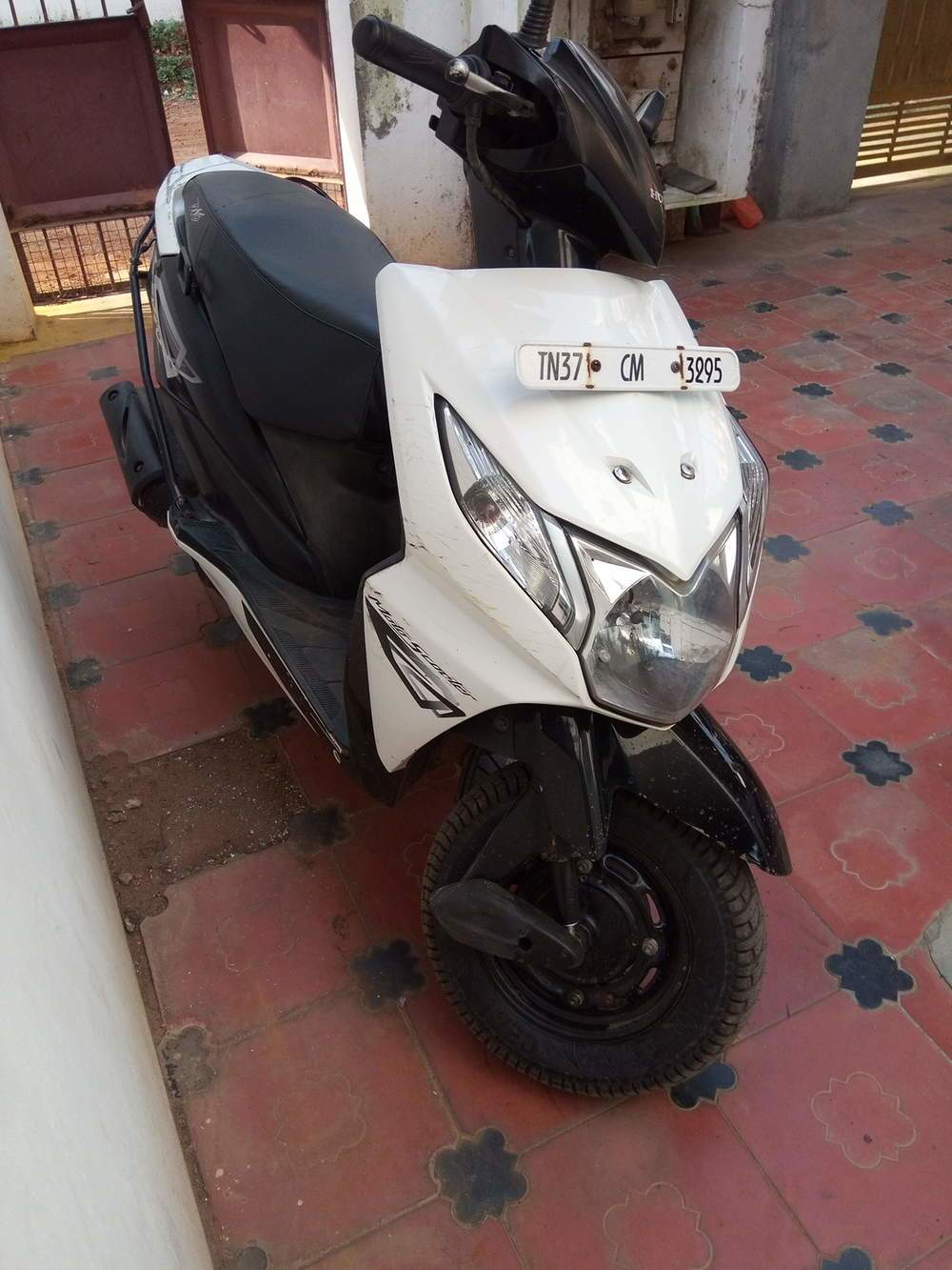 Honda Dio Rear View