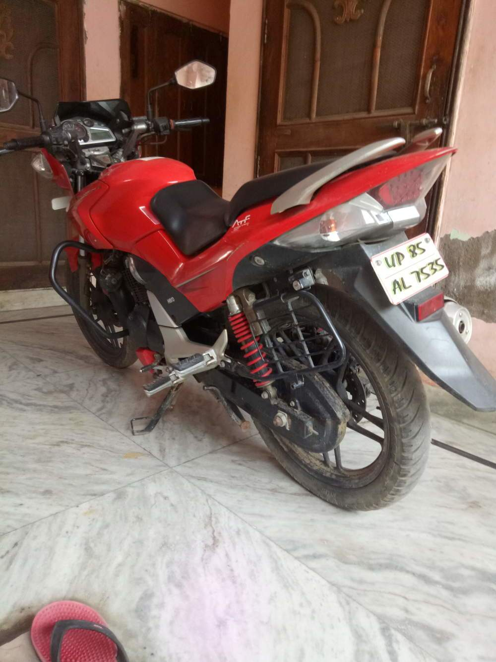 Hero Xtreme Rear View