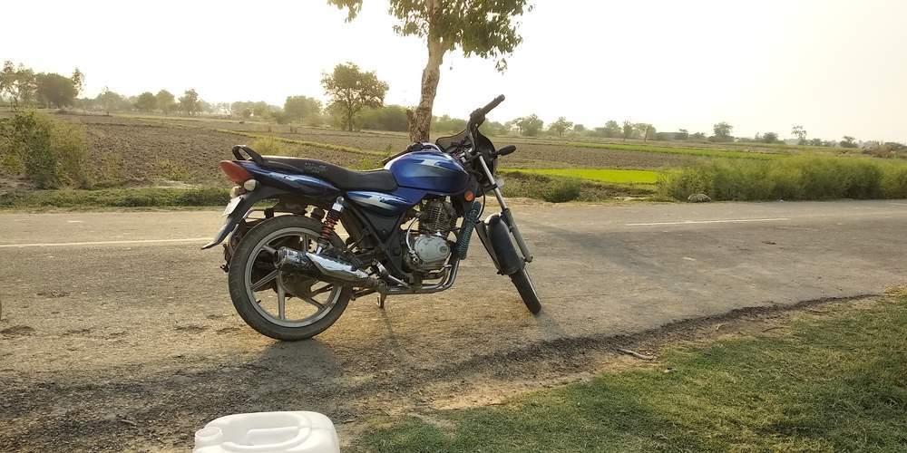 Bajaj Discover 100 Rear View