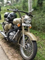 Royal Enfield Classic 500 Left Side