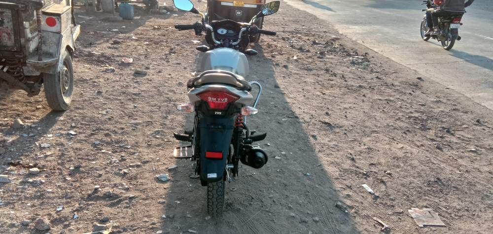 Tvs Victor Rear View