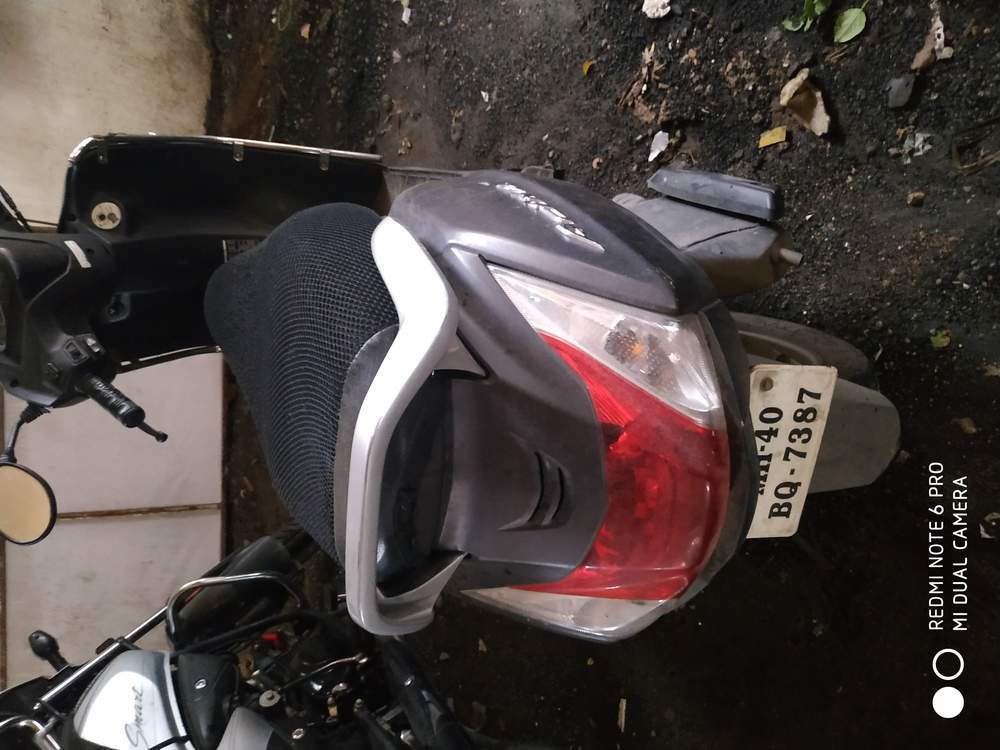 Honda Activa 4g Rear View