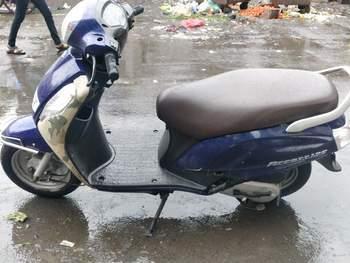Suzuki Access 125 Left Side
