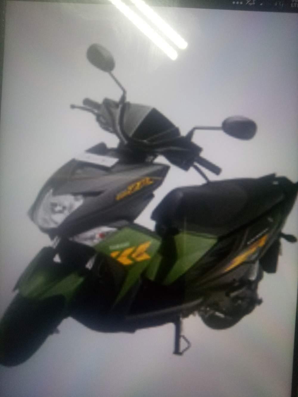 Yamaha Ray Z Rear View