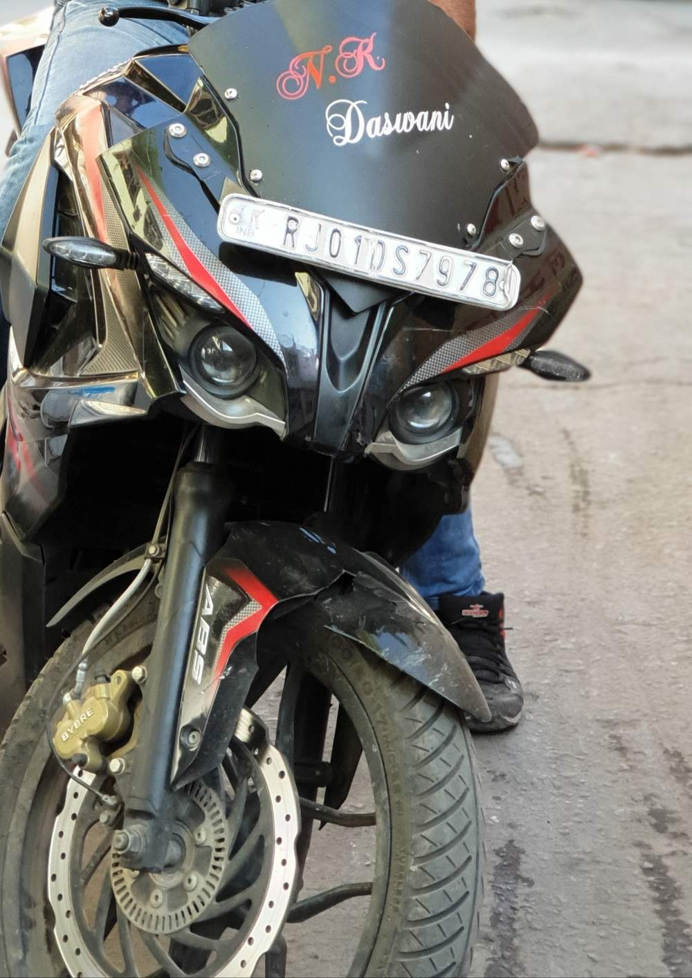 Bajaj Pulsar Rs 200 Rear View