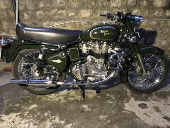 Royal Enfield Bullet 350 Right Side