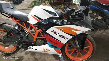 Ktm Rc 200 Rear Tyre