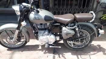 Royal Enfield Classic 350 Rear View