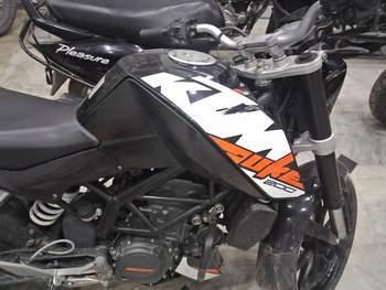 Ktm Rc 200 Left Side