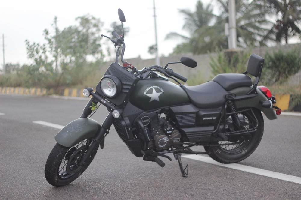 Um Motorcycles Renegade Commando Rear View