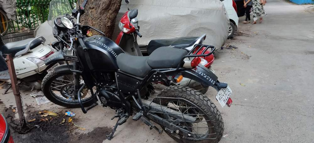 Royal Enfield Himalayan Rear View