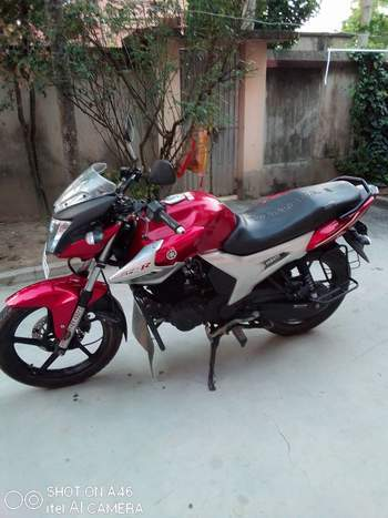 Yamaha Fz Left Side