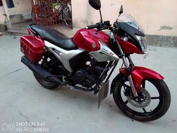 Yamaha Fz Right Side