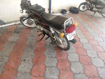 Yamaha Rx 135 Right Side