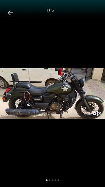 Um Motorcycles Renegade Commando Rear View