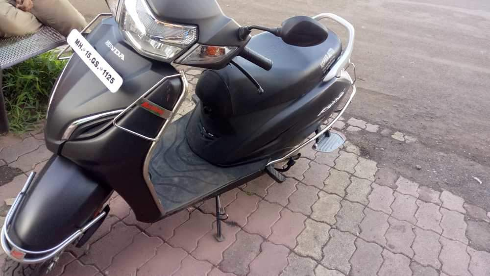 Honda Activa 5g Rear View