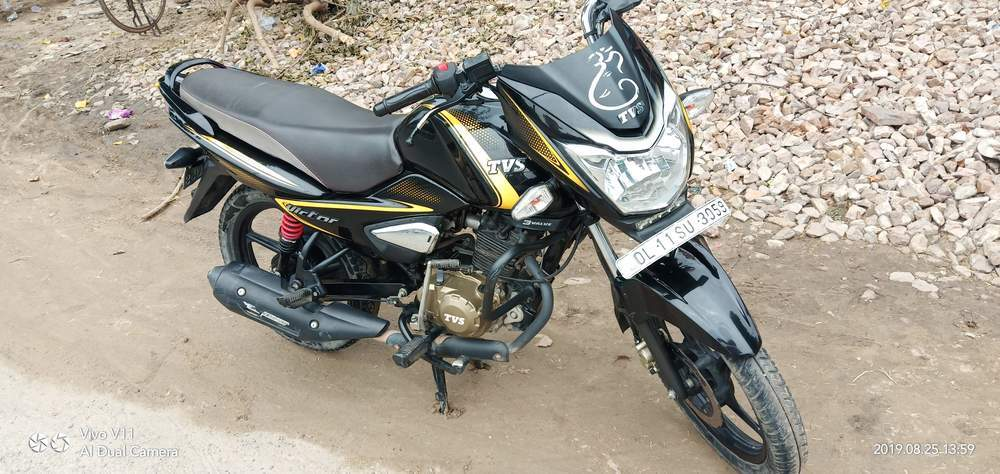 Tvs Victor Front View