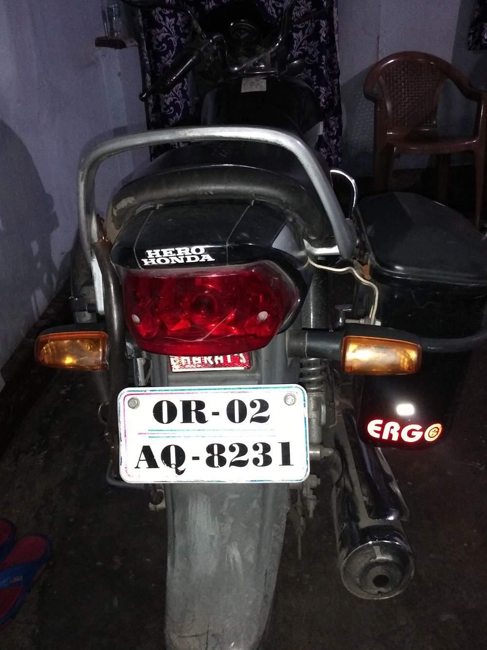 Hero Honda Cd Deluxe Right Side