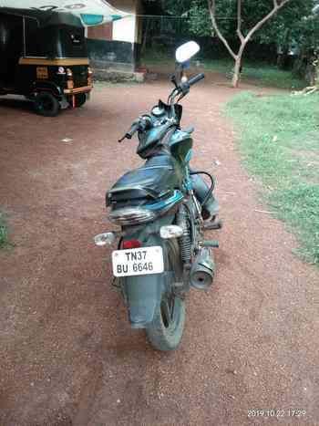 Bajaj Discover 100 Engine