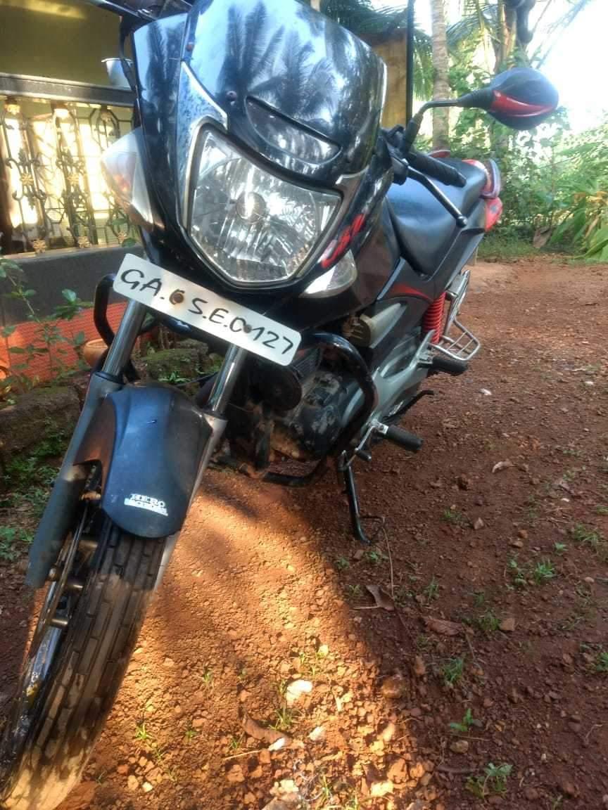Hero Honda Cbz Xtreme Right Side