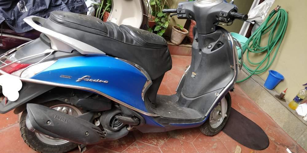 Yamaha Fascino Left Side